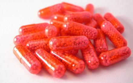 Kapsułki z ... kałem lekiem na ostre biegunki?